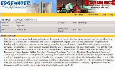 Edgewater casino laughlin employment
