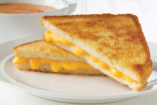 Scarecrow Cabin: Grilled Cheese...Yes please!