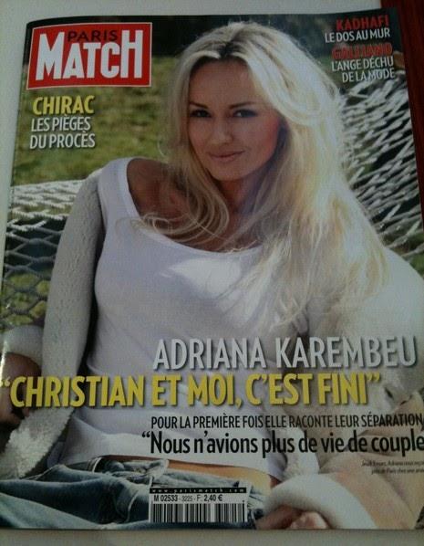 adriana karembeu divorce séparation christian