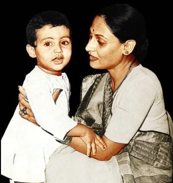 Abhishek's Childhood Photo