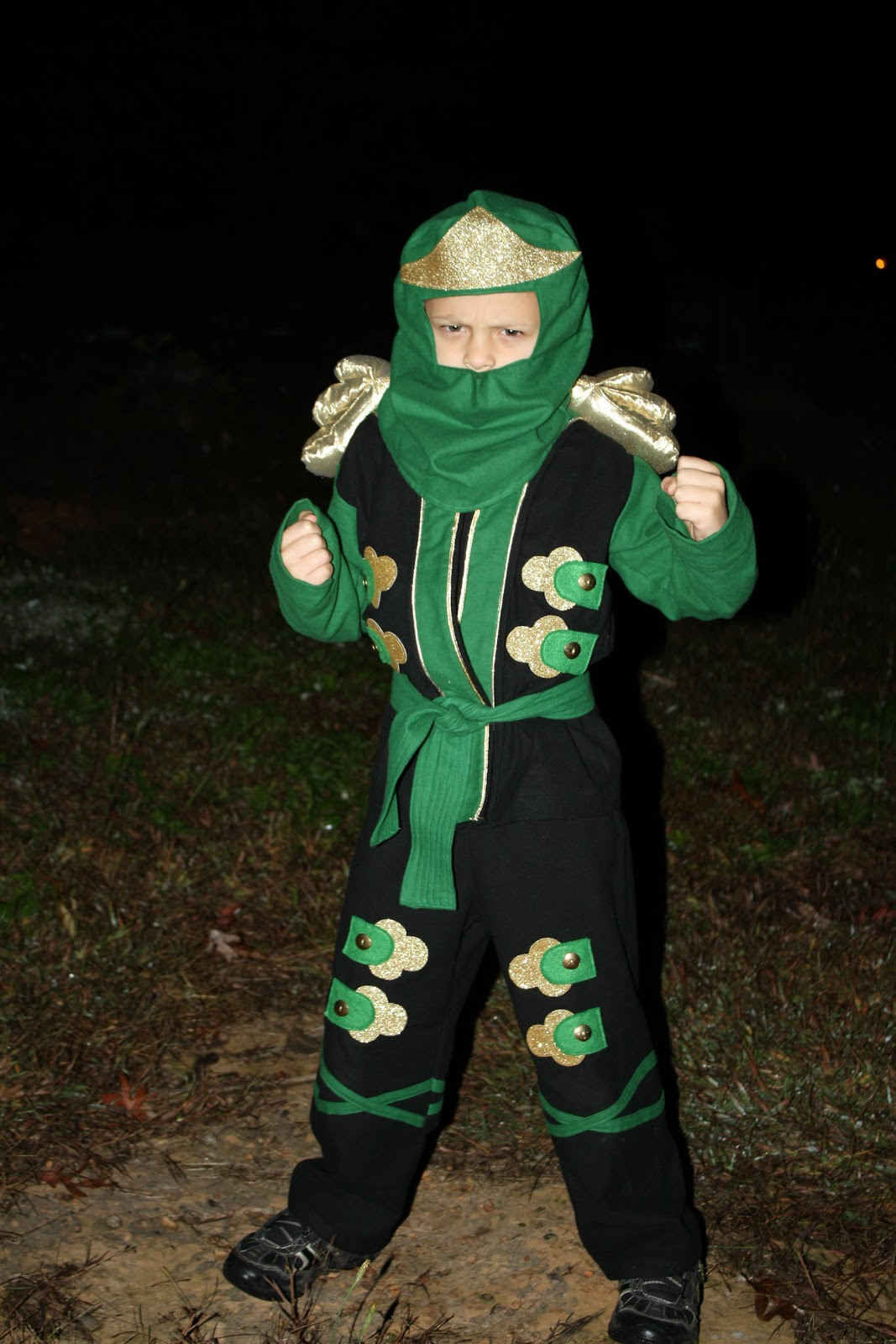 Préférence Sweet Pea and Pumkins: Ninjago llyod Costume of a Little Boy's Dreams! VY81