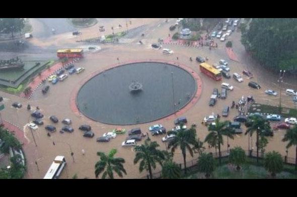 Banjir Jakarta Keyword Paling Dicari di Google