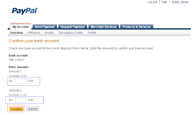 how to confirm add email to paypal account