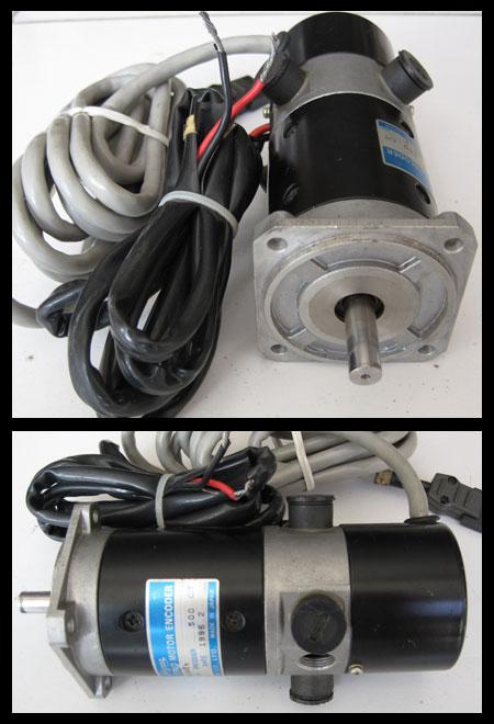2nd machine dc servo motor encoder 100watt tamagawa japan for Dc servo motor with encoder