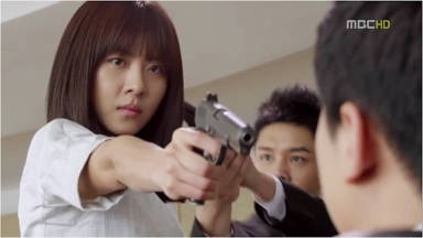 King 2 Hearts gun