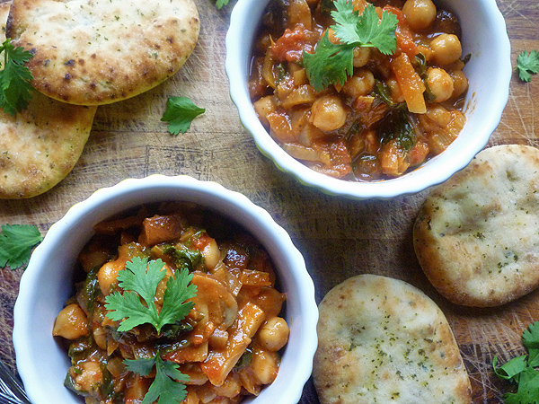 Chard and Chickpea Curry Recipe