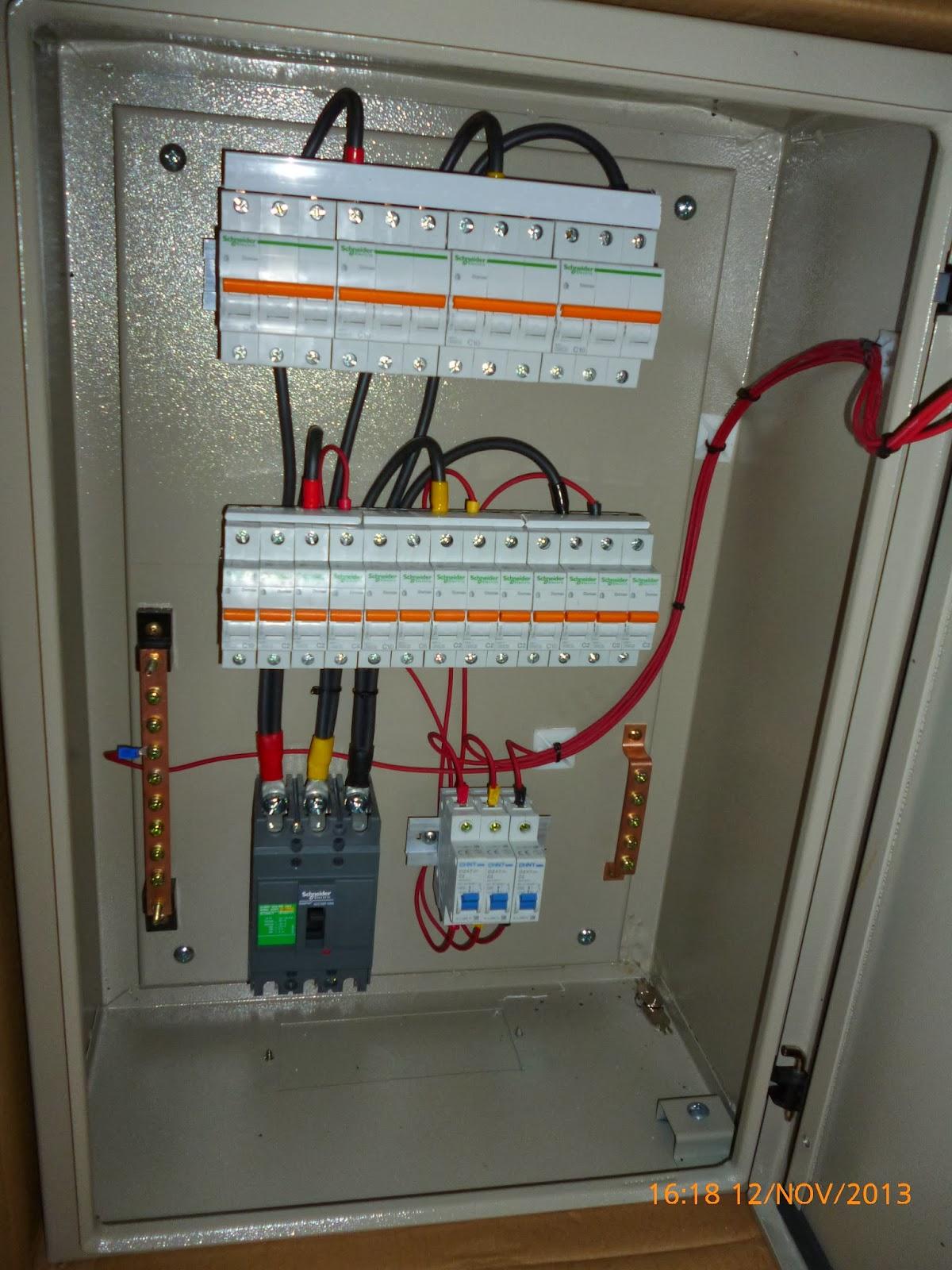 Wiring Diagram Panel Kontrol : Etnik sugitama engineering panel ac dan lampu