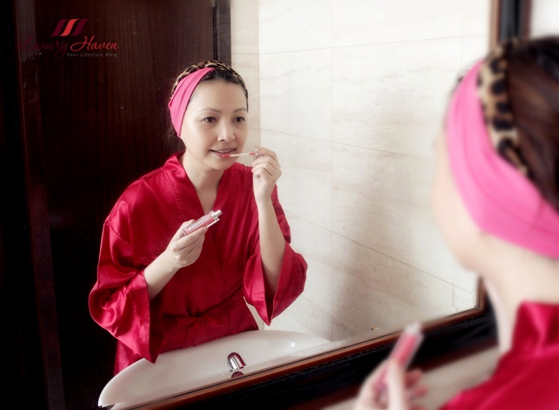 singapore beauty influencer reviews infracyte instant lip plumper