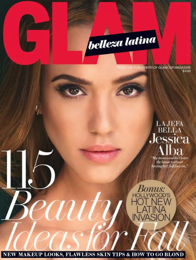 Jessica Alba portada de Glam Belleza Latina