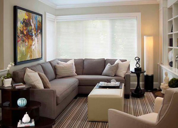 How do i decorate my small living room with modern design for Simple modern living room