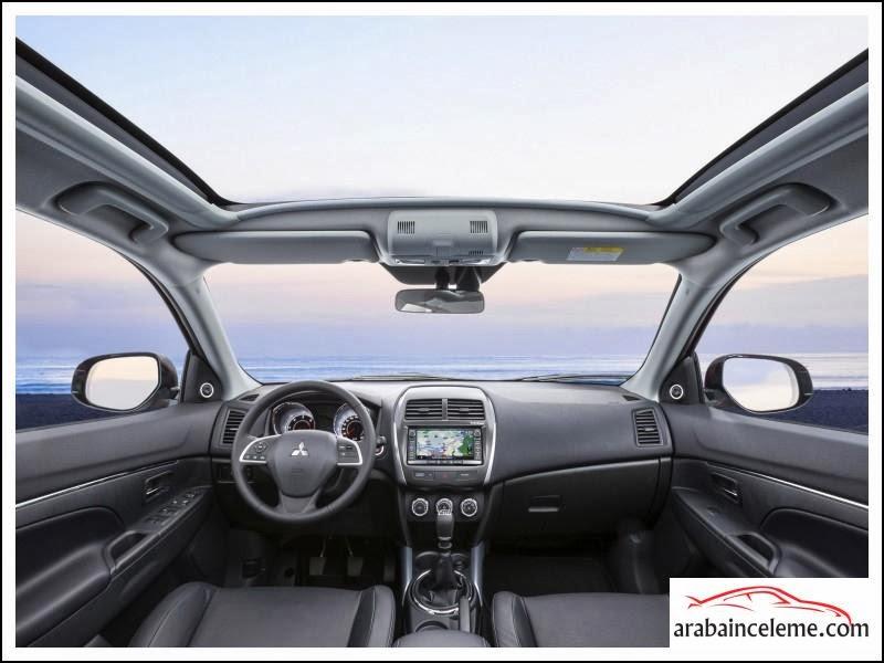 Mitsubishi ASX inceleme Resimleri