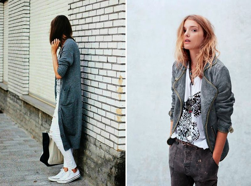 HOW TO WEAR: GREY- CÓMO COMBINAR EL COLOR GRIS BY NINASVINTAGE