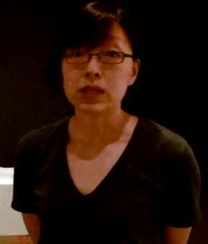 Koreaanse kunstenares Hyang Cho