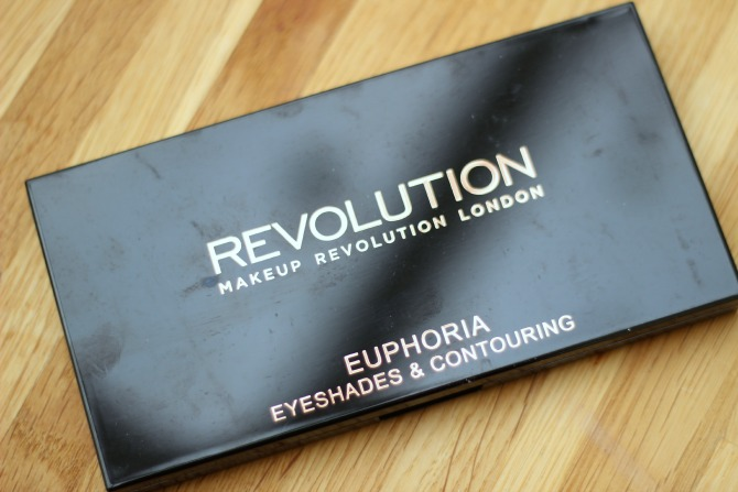 Makeup Revolution Euphoria palette in Bare