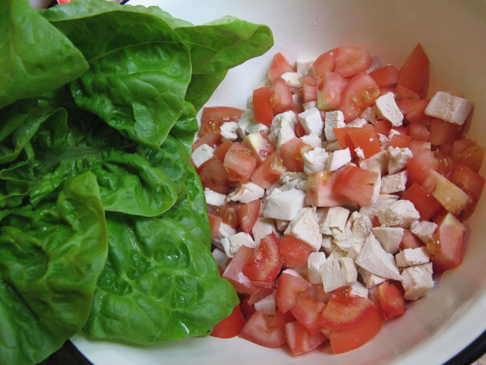 салат з філе рецепти