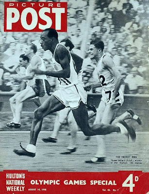 Picture Post cover for 1948 London Olympics