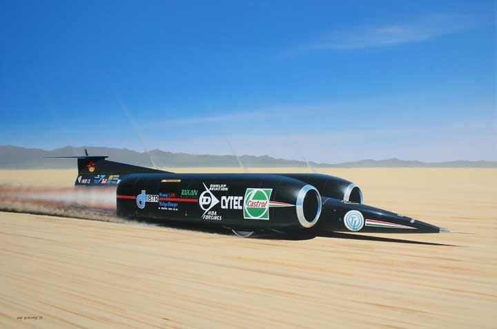 Land Speed Record >> Picture Of The World's Fastest Car - Car Pictures: Picture Of The World's Fastest Car