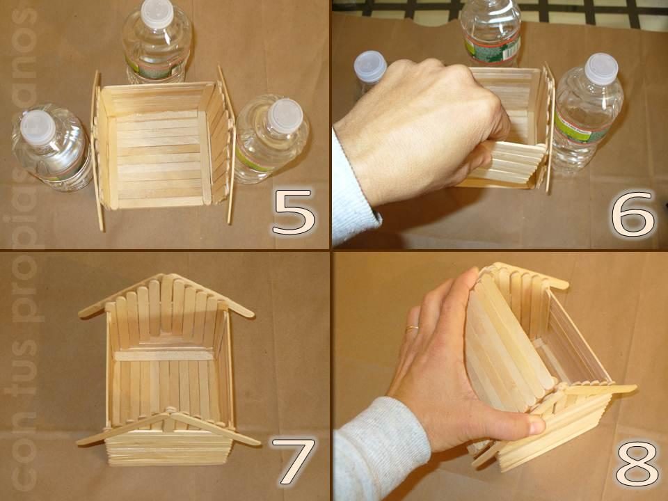 Con tus propias manos como hacer una casita alcancia con - Como hacer una claraboya ...