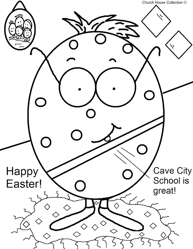 Cave+City+School+Coloring+Pages+Easter+Egg+Coloring+Page+1. title=