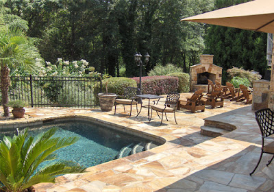 POOL-DESIGN-BACKYARD-OUTDOOR-FIREAPLACE