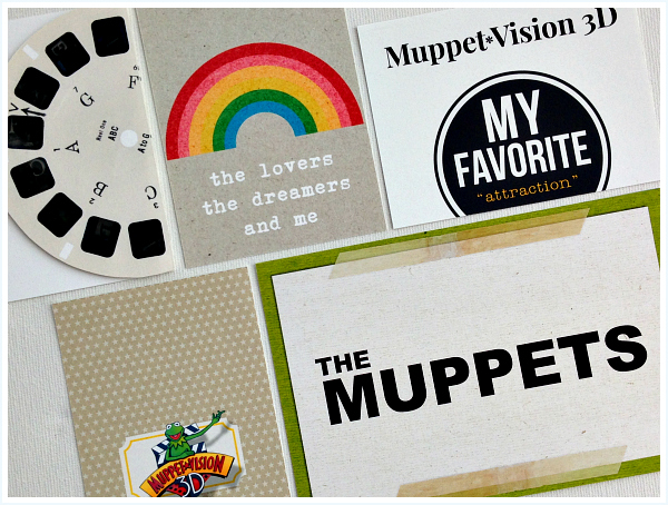 Muppets, Muppet*Vision 3D, The Muppet Show, Kermit, Project Mouse, Project Life - Disney inspired memory keeping | Any Happy Little Thoughts