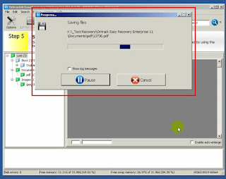 10 - Proses Penyimpanan atau Recovery File yang Sebelumnya Hilang Diformat