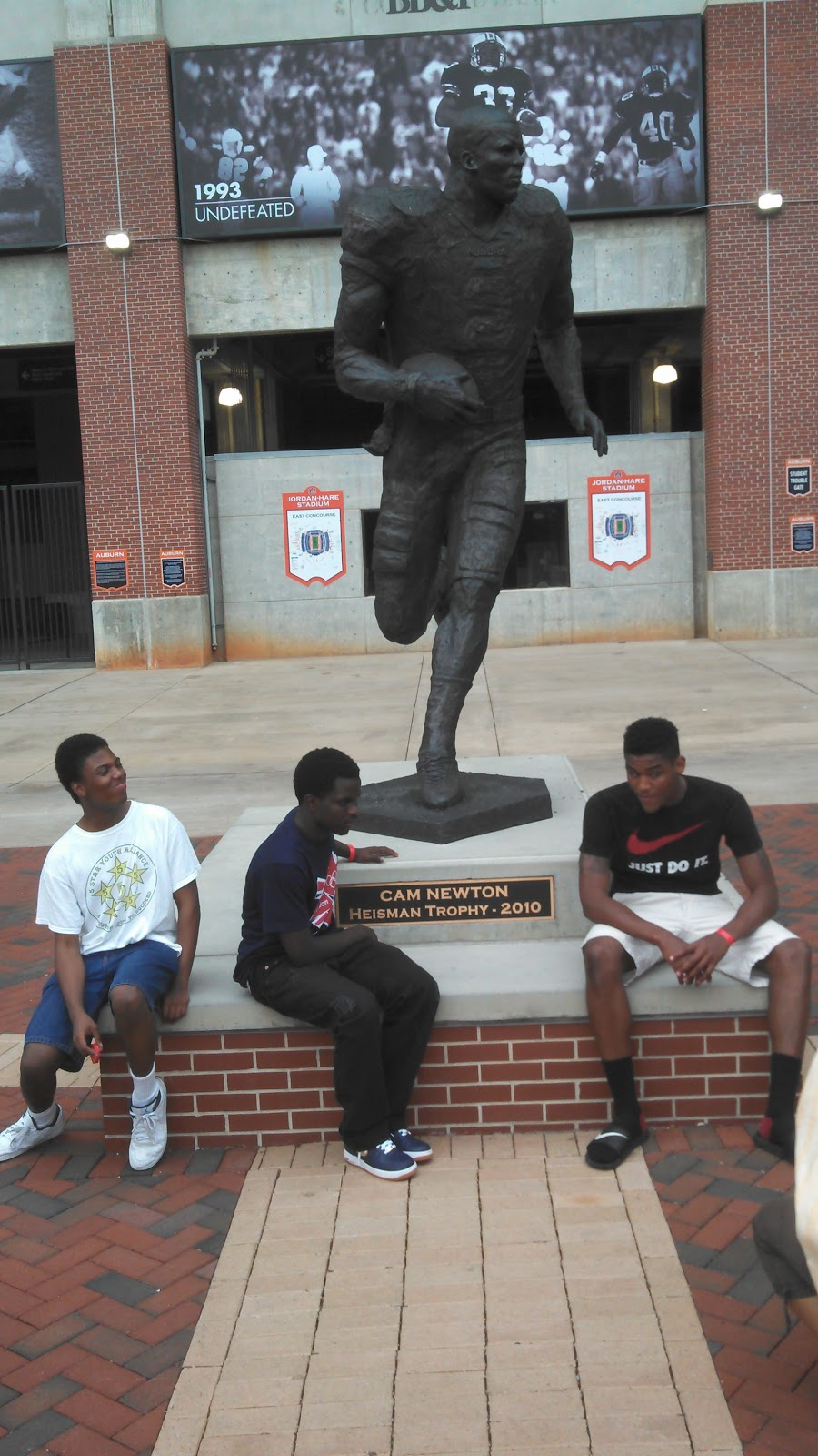 Cam Newton Statue