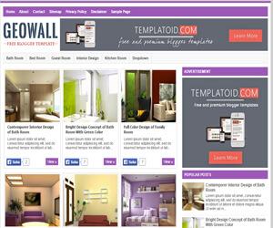 Chia sẻ template blogspot gallery hình ảnh load nhanh