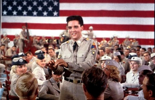 Patriotic Elvis Presley