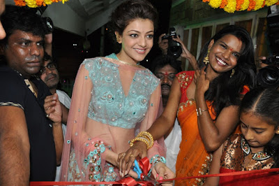 Kajal Agarwal Hd Photos at Mugdha Art Studio Launch