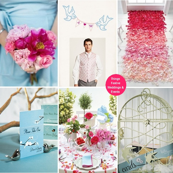 Sky Blue And Pink Wedding Theme: Tiffany blue and pink wedding ...