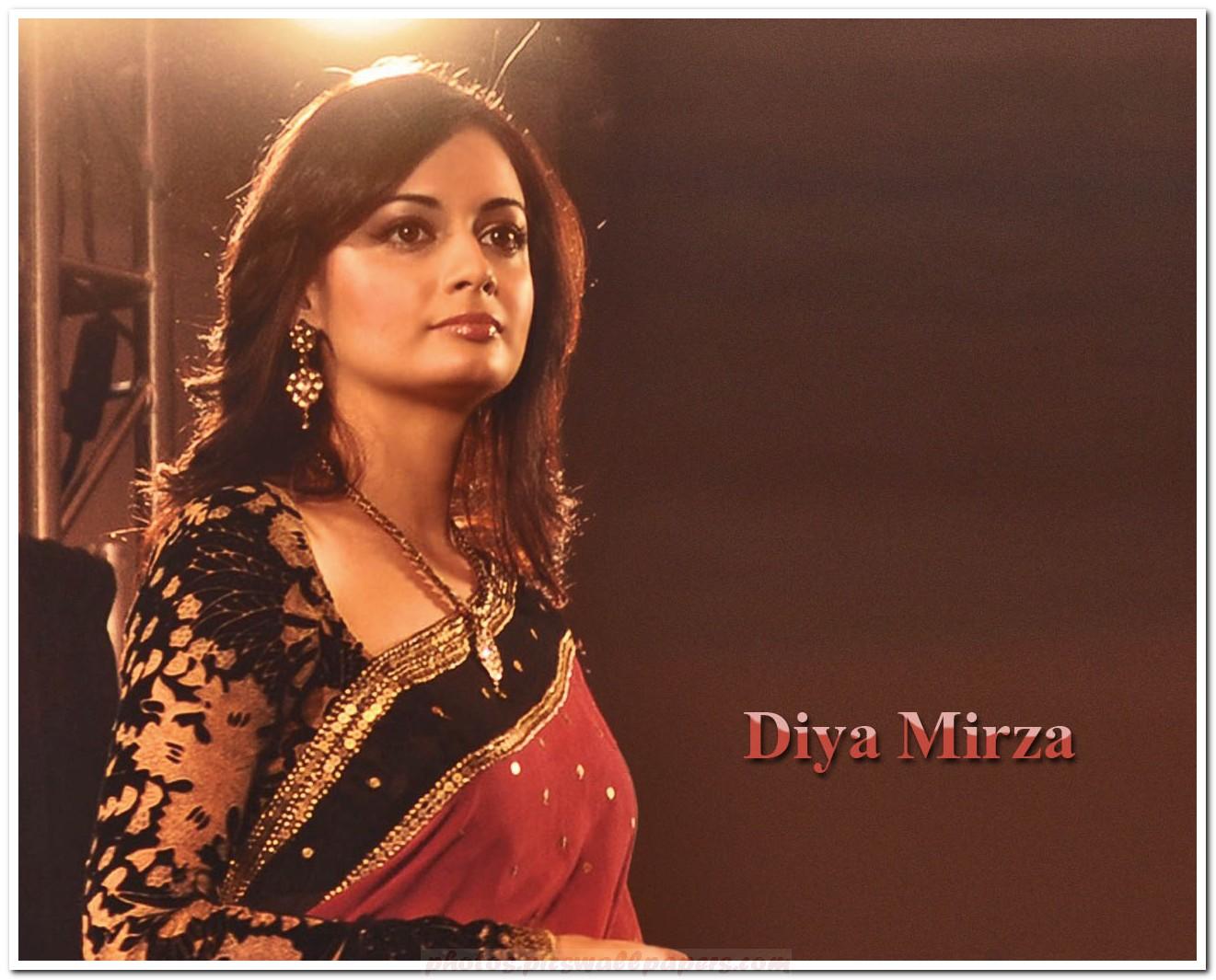 displaying 14 gt images for   diya mirza in saree wallpaper