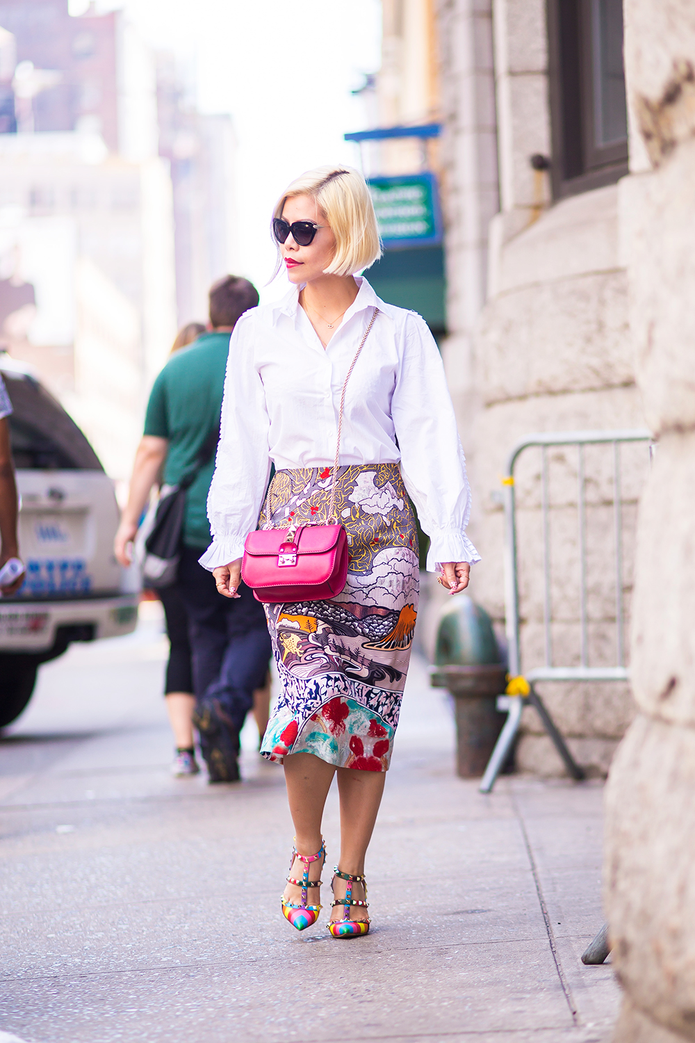 New York Fashion Week 2015- Street Style- Crystal Phuong x Few Moda