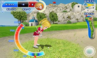 Screenshots of the Let's Golf! 2 HD for Android tablet, phone.