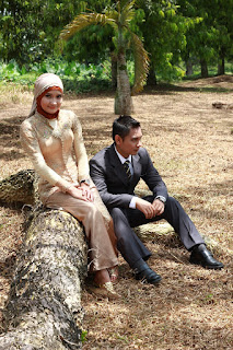 Pre-wedding Kebaya Hijab & Jas Formal, Epi Friezta Dewi Hasibuan & Arisandy Joan Hardiputra