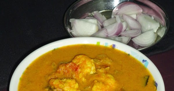 how to make prawn curry for chapathi