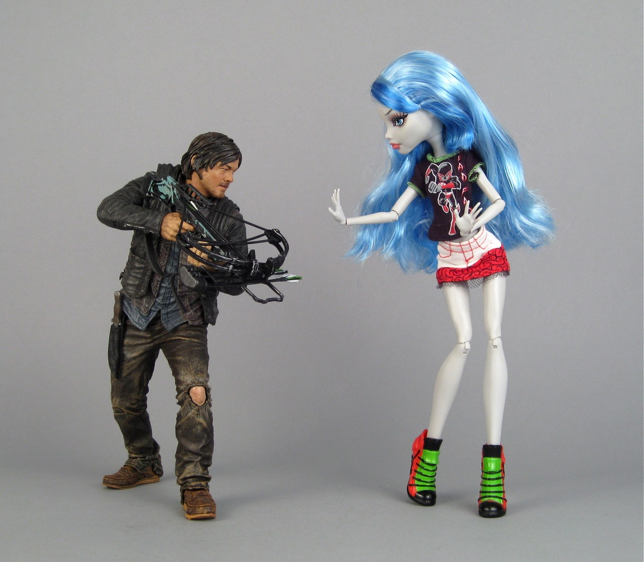 Daryl meets Ghoulia
