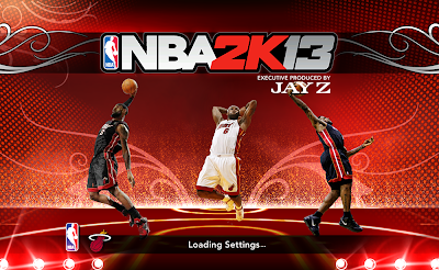 NBA 2K13 LeBron James Startup Screen Cover Mod