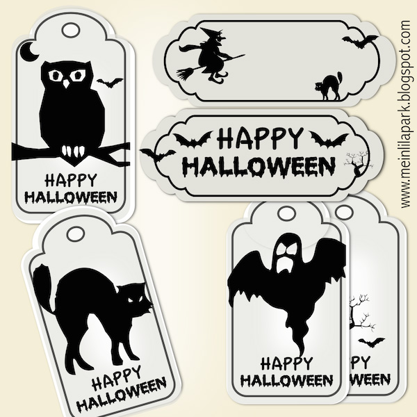 picture about Free Printable Halloween Tags referred to as Absolutely free printable halloween tags - Druckvorlage Halloween