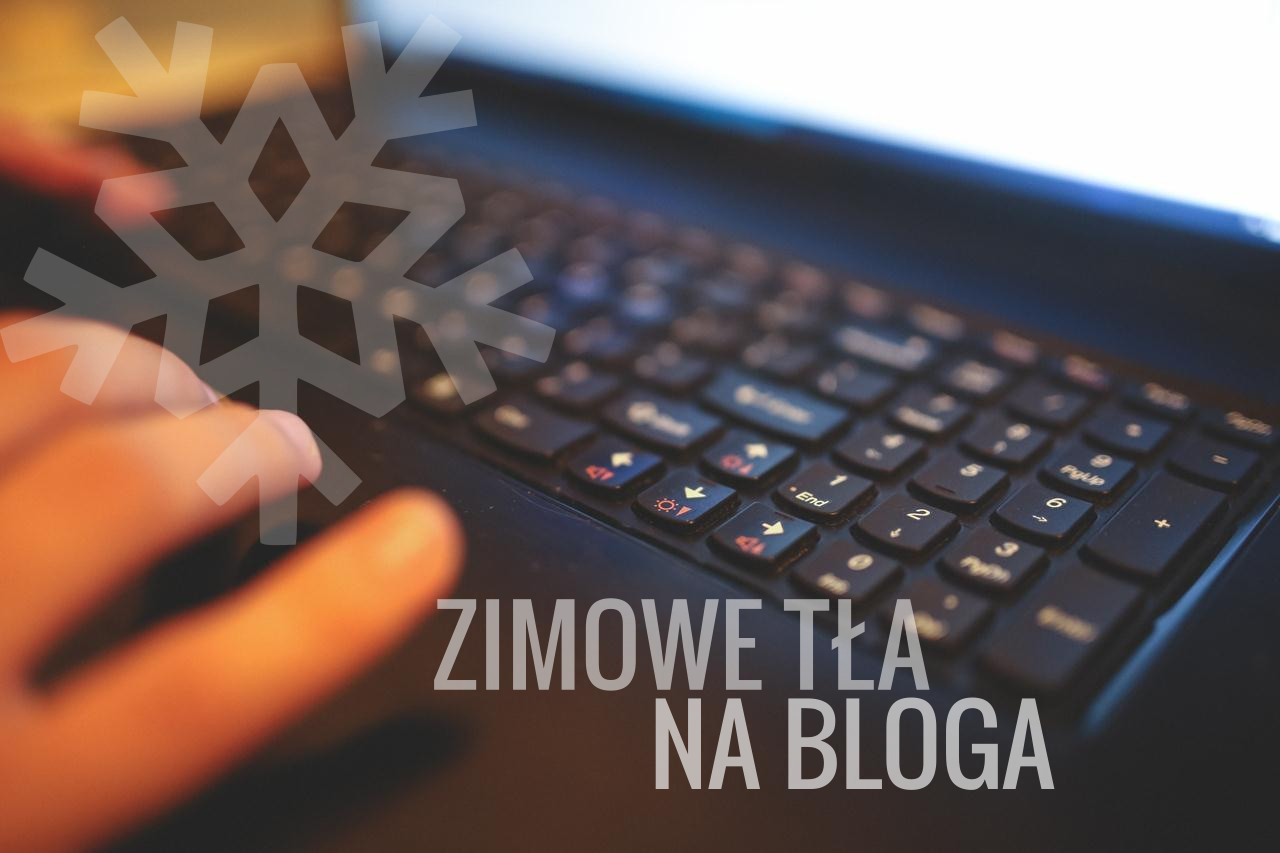 Zimowe darmowe tła na bloga