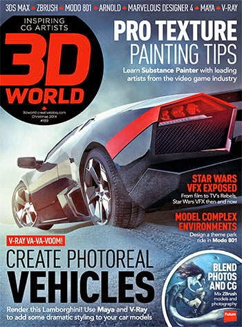 3D World Magazine Christmas 2014