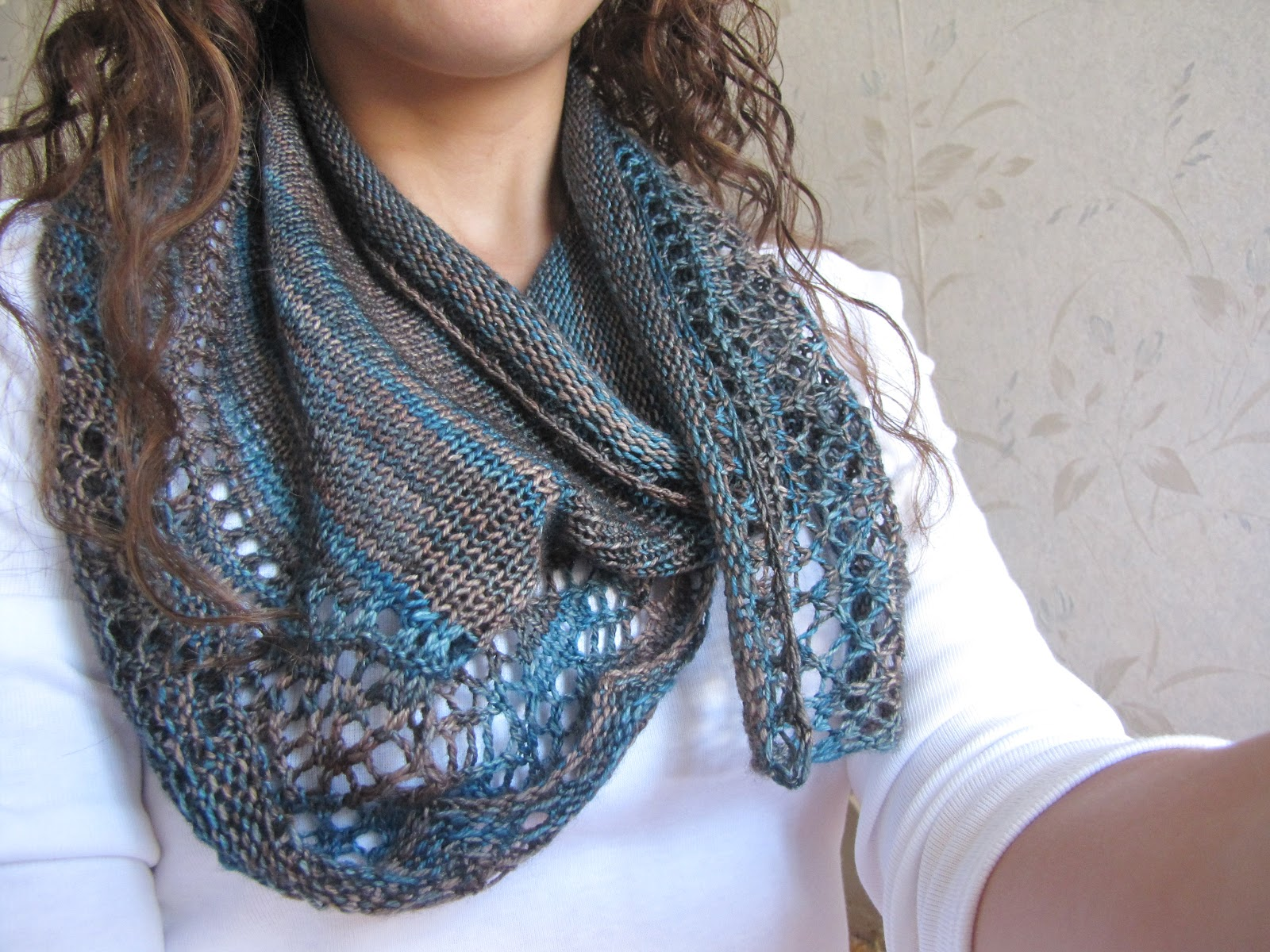 Knitted Scarf Patterns Using Sock Yarn : FO - Arroyo