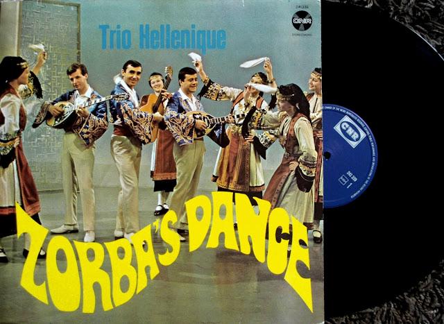Trio Hellenique - Zorba's Dance on CNR 1970