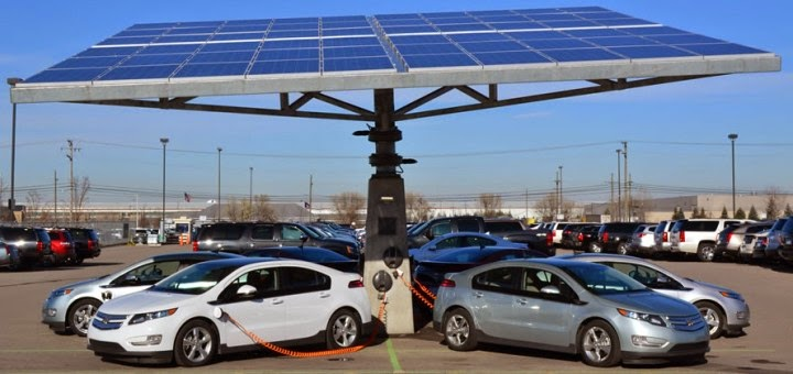 GM Totals 401 EV Charge Stations at U.S. Facilities