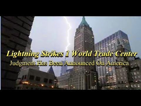 Lightning Strikes World Trade Center TWICE As Pope Is To Sit On King David's Tomb