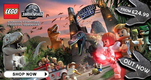 LEGO Jurassic World videogame