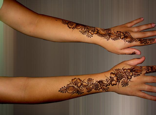 Nice Mehandi Designs
