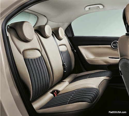 Fiat 500X Lounge Rear Seats