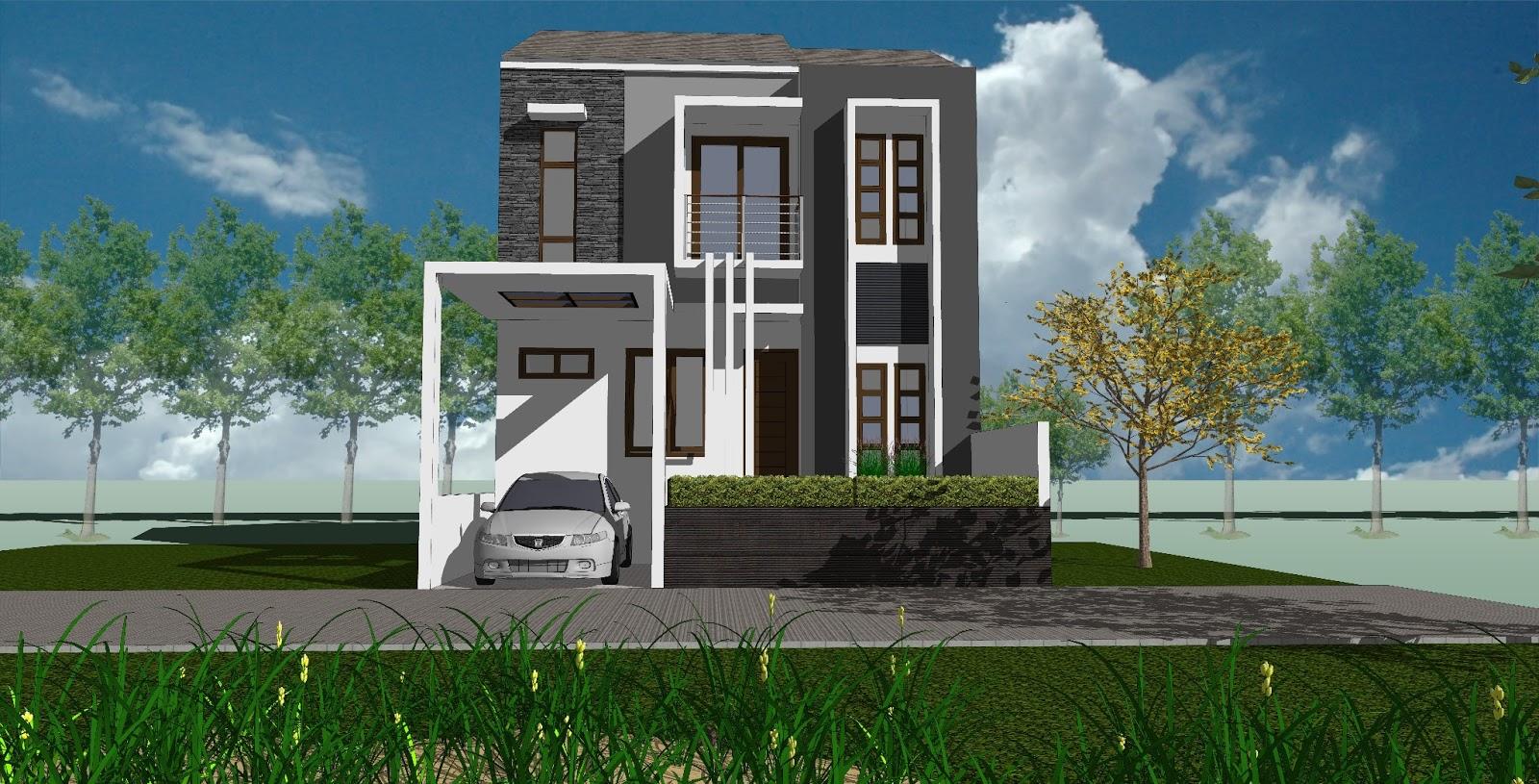 Gambar Design Rumah Minimalis 2 lantai