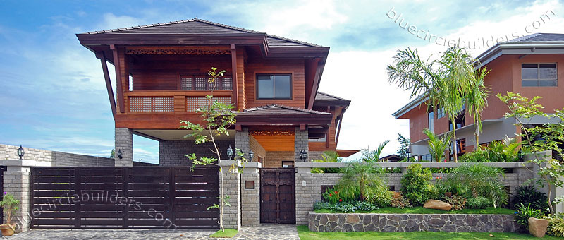 Model home in the philippines modern house plans designs for Kedella home designs